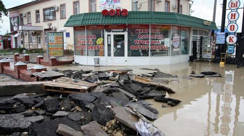 Mưa lũ bất ngờ, 141 người Nga thiệt mạng - 1