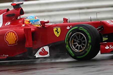 """Phân hạng British GP: Alonso giành ngôi """"vua thuỷ chiến"""" - 1"""