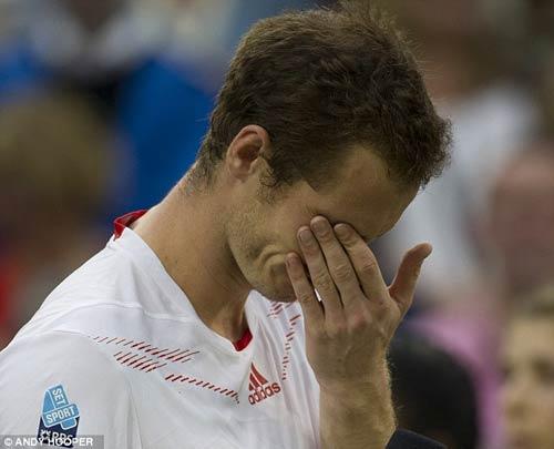 Federer hài lòng, Murray tiếp tục khóc - 1