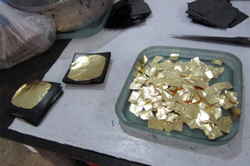 Làng nghề dát vàng duy nhất tại Việt Nam - 1
