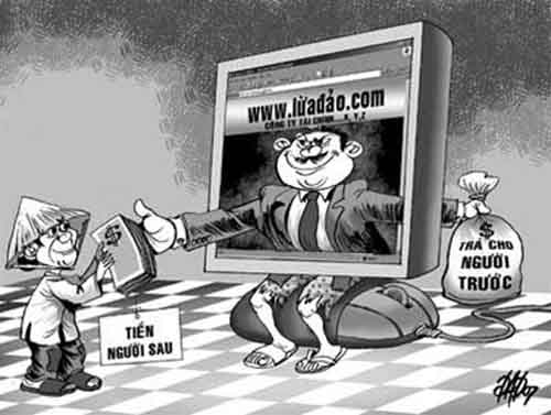 """""""Sạt nghiệp"""" vì bị website thương mại điện tử trá hình lừa đảo - 1"""