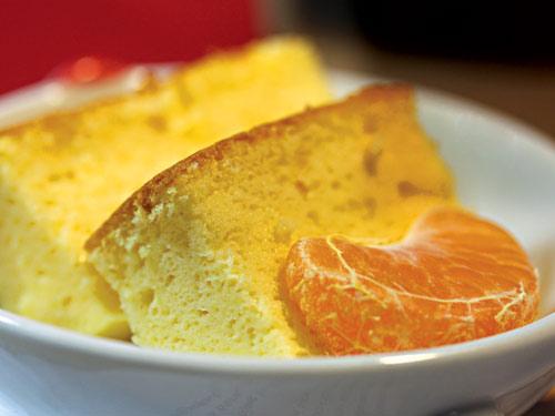 Bánh phômai cam bông xốp - 1