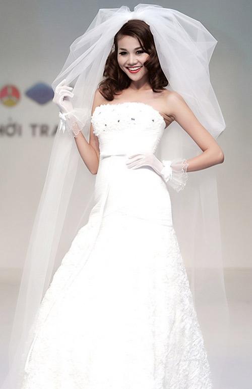 Tóc cô dâu yêu kiều như nhan sắc Việt - 1
