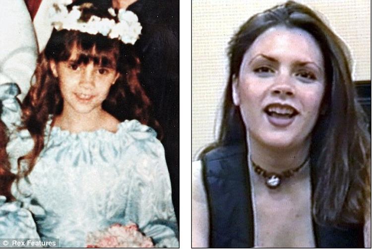 Bà Becks và nụ cười trẻ thơ năm 1982, bên cạnh đó là hình ảnh Vic năm 1994.