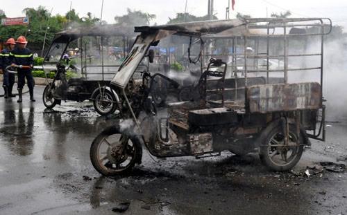 Vụ hỗn chiến, đốt xe ba gác: Bắt chủ nhà hàng - 1