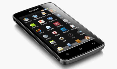 "Philips W732: Smartphone pin ""khủng"" - 1"