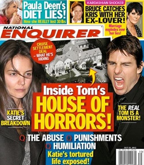 Tom Cruise dọa kiện vì bị gọi là quái vật - 1