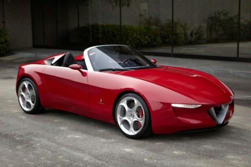 """Alfa Romeo Spider """"siêu mẫu"""" trên sàn diễn - 1"""