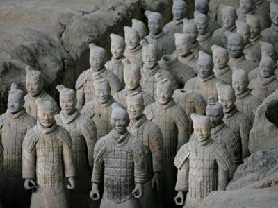 Những dấu hỏi quanh lăng mộ Tần vương - 1