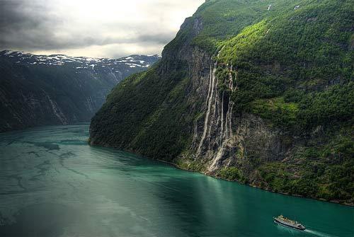 Vịnh Geirangerfjord – đặc sản Nauy - 1