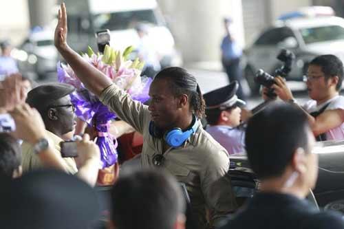 Drogba khiến fan Trung Quốc phát cuồng - 1