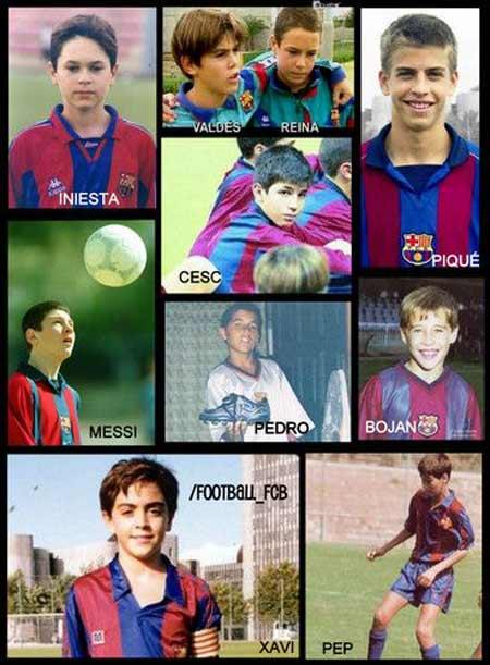 Hồi nhỏ, Messi bị gọi là ngớ ngẩn - 1