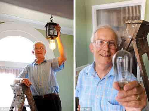 Chiếc bóng đèn 100 năm vẫn dùng tốt - 1