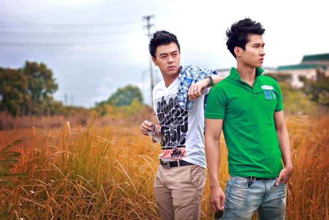 MC Tuấn Tú và Võ Văn Nam