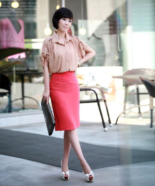 3 cách để mặc váy bút chì đẹp hơn - 1