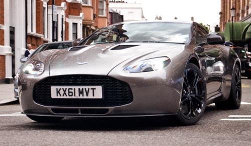 Aston Martin V12 Zagato xuất hiện London - 1