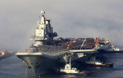 Trung Quốc chạy thử tàu sân bay - 1