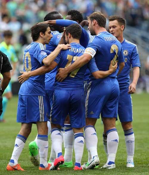 Seattle - Chelsea: Hazard nổ súng - 1