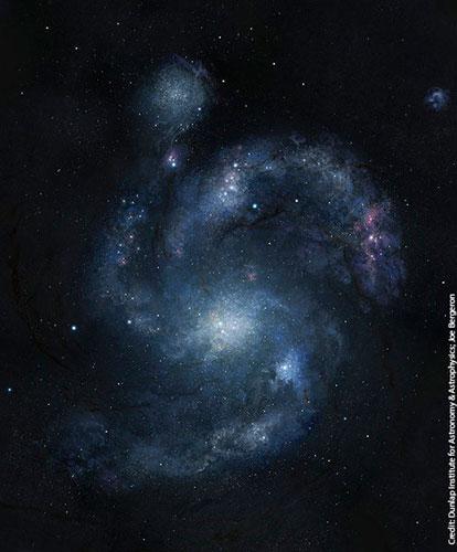 Phát hiện thiên hà xoắn ốc lâu đời nhất - 1