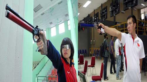 Bắn súng Việt Nam sẵn sàng cho Olympic - 1
