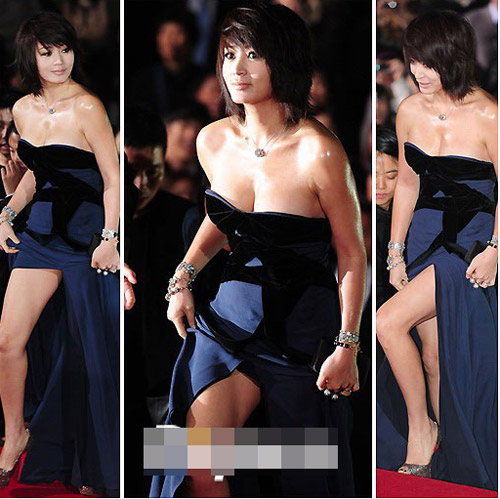 Garls kim hye soo breast buster