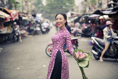 Đoan Trang khoe ảnh cưới chồng Tây - 1