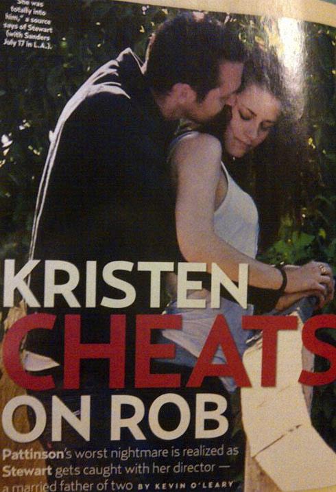 Lộ ảnh Kristen phản bội bạn trai - 1
