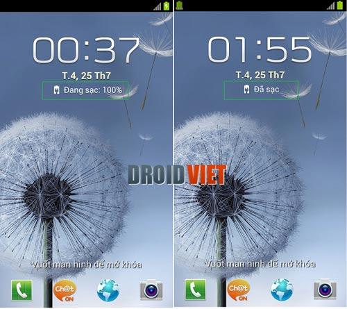 Galaxy S3 sạc 100% vẫn chưa đầy và hướng dẫn sạc đúng cách - 1