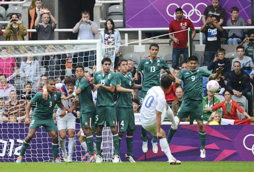 O.Mexico - O.Hàn Quốc: Quyết liệt - 1