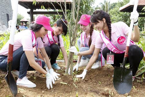Miss Sport trồng cây bảo vệ môi trường - 1