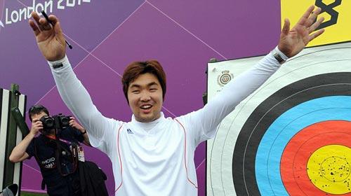 Olympic: Cung thủ khiếm thị Hàn Quốc lập KLTG - 1