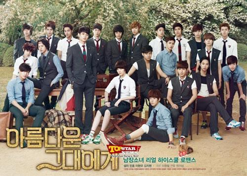 22 mỹ nam hội tụ trong 1 drama - 1
