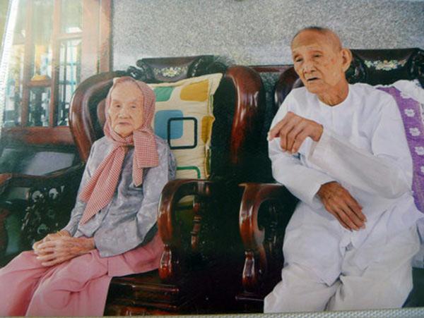 Cặp vợ chồng sống thọ nhất Việt Nam - 1