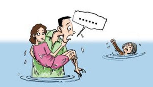 TQ: Tranh cãi vì chàng trai cứu vợ trước mẹ - 1