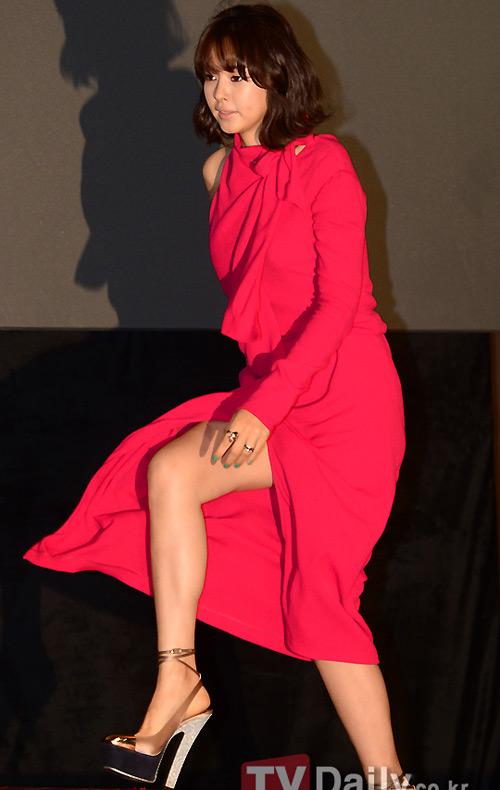 Hoa hậu Hàn chân dài hút mắt vẫn bị chê - 1