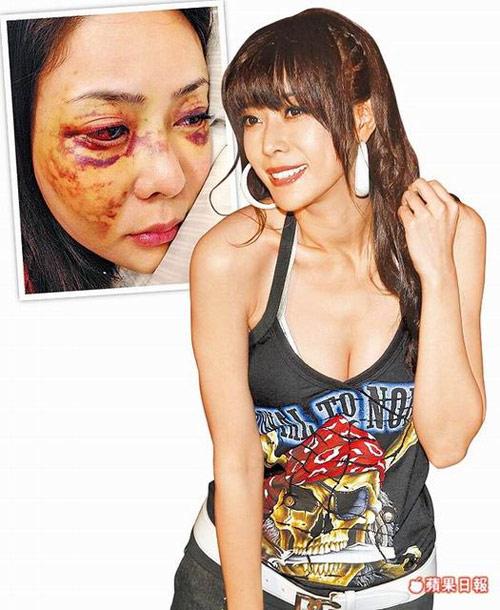 Clip người mẫu Đài Loan bị hành hung - 1