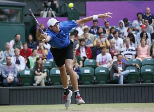 Federer - Isner: Cửa ải khó nhọc - 1