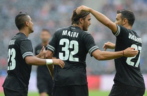Juve - Malaga: Matri lập cú đúp - 1