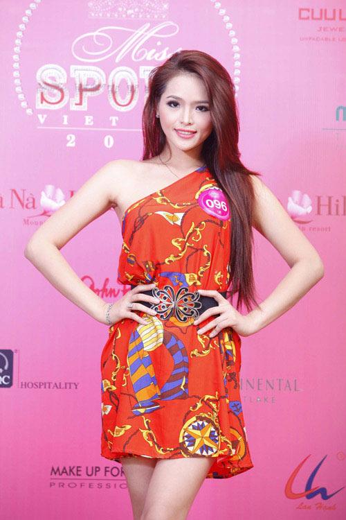 Ngắm lại vẻ đẹp của Hoa khôi Thể thao 2012 - 1