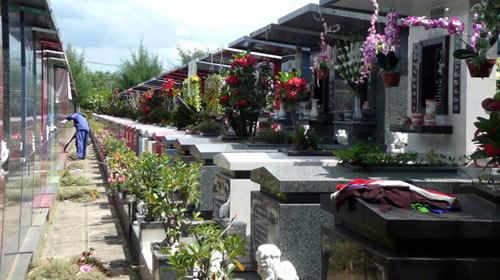 """Nghĩa trang: An nghỉ phải theo """"luật"""" - 1"""