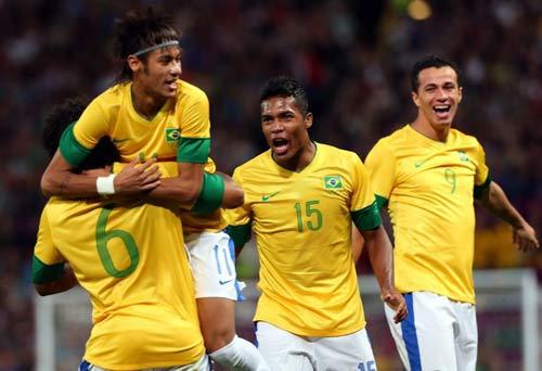 """Brazil – Mexico: """"Kinh điển"""" ở Olympic - 1"""