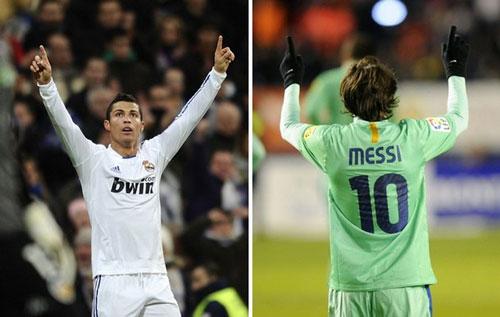 Ronaldo có nhiều fan ủng hộ hơn Messi - 1