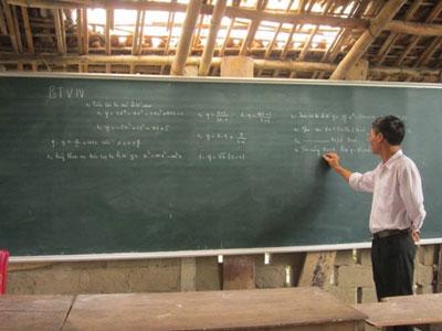 Người thầy chỉ dạy học trò kém - 1