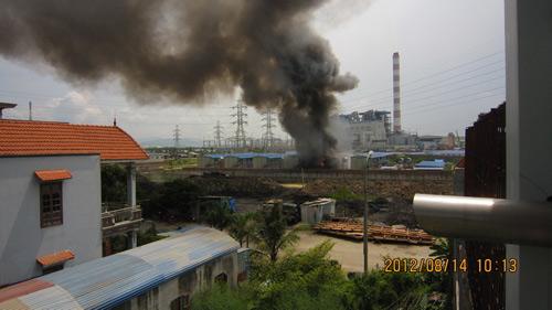 Hải Phòng: Khu công nhân Trung Quốc cháy lớn - 1