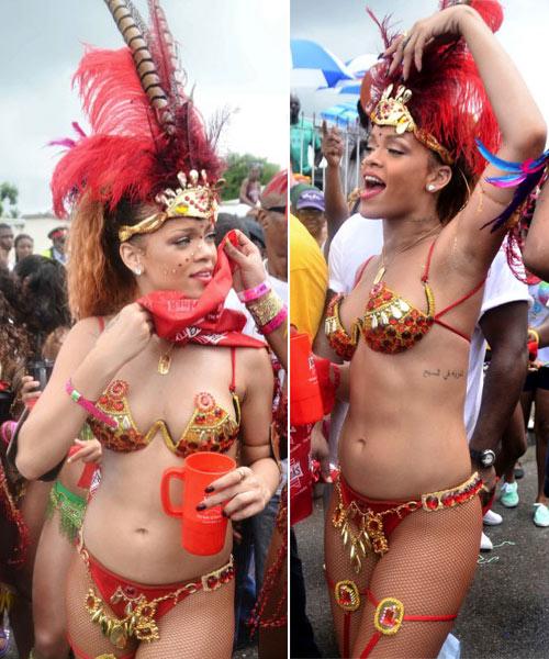 """Những bộ bikini """"liều lĩnh"""" của Rihanna - 1"""