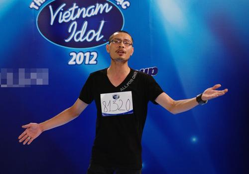 Quốc Trung nổi giận với thí sinh VN Idol? - 1