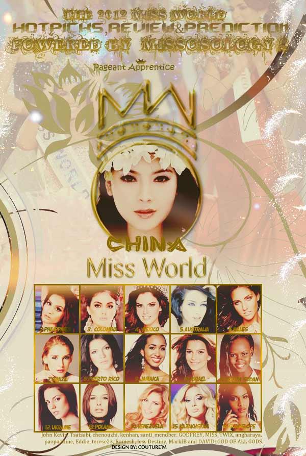 Gặp 16 ứng cử viên sáng nhất Miss World - 1