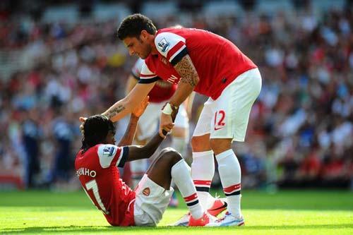 Arsenal bị cầm hòa, Wenger vẫn tự tin - 1