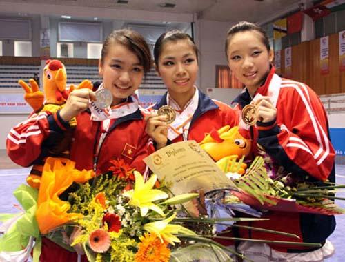 Việt Nam phấn đấu vào tốp 5 giải VĐ wushu châu Á - 1