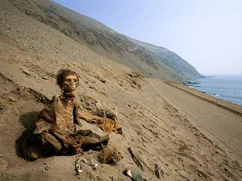 Những xác ướp kỳ bí trên sa mạc Chile - 1